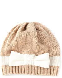 Bernstock Speirs Stripe Bow Beanie Hat