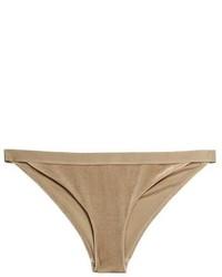 H&M Crushed Velvet Bikini Bottoms