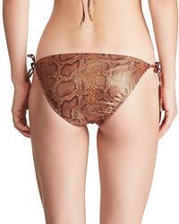 Polo Ralph Lauren Python Print Bikini Bottom