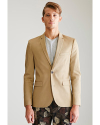 21men 21 Two Button Chino Suit Jacket