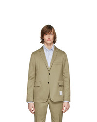 Thom Browne Beige Unconstructed Classic Blazer