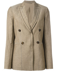 Brunello Cucinelli Button Up Blazer