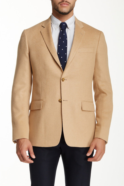 Todd Snyder Camel Hair Mayfair Fit Two On Sport Coat