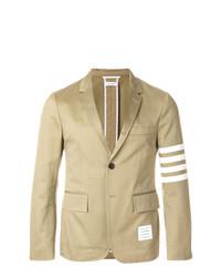 Thom Browne Classic Unconstructed 4 Bar Stripe Sport Coat