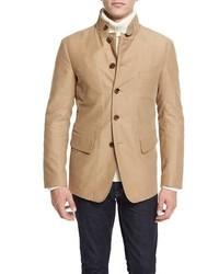 Convertible sport jacket tan medium 826348