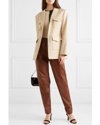 Georgia Alice Cotton Blend Twill Blazer