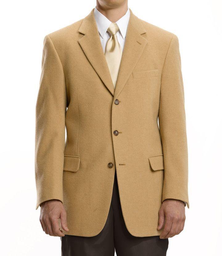 Jos A Bank Executive 3 Button Camel Hair Blazer Where