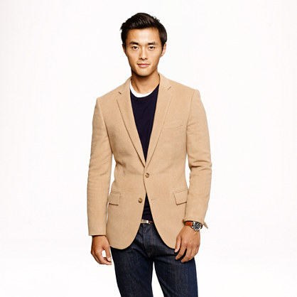 Men S Fashion Jackets Blazers Tan J Crew Ludlow Sportcoat In English Camel Hair