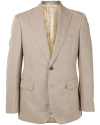 Gieves & Hawkes Single Breasted Fitted Blazer