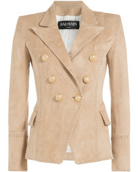Suede blazer medium 728622