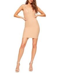 Missguided Scuba Body Con Dress