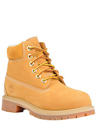 Timberland 6 Classic Boot With Shearling Grade School
