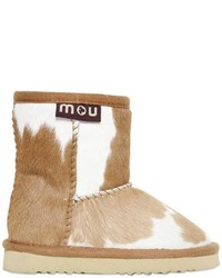 Mou Printed Ponyskin Shearling Boots