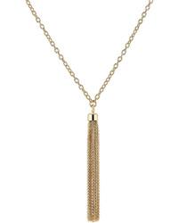 Agnona Tassel Bracelet