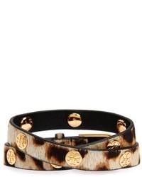Genuine calf hair wrap bracelet medium 4952155