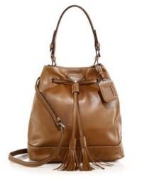 Prada Soft Calf Bucket Bag