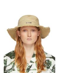 Jacquemus Beige Le Bob Artichaut Bucket Hat
