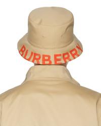 Burberry Beige Logo Bucket Hat