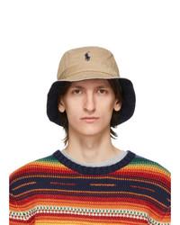 Polo Ralph Lauren Khaki Chino Bucket Hat