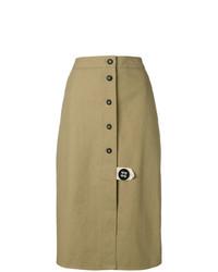 Front buttoned skirt medium 7975753
