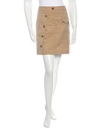 Burberry Mini Button Up Skirt W Tags