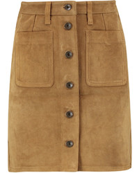 Rag & Bone Suede Mini Skirt