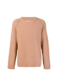 Maison Margiela Cable Knit Fitted Sweater