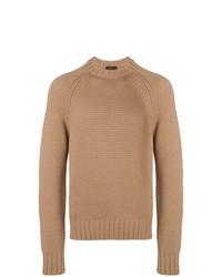 Prada Chunky Knit Crewneck Sweater