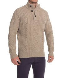 Barbour Kirkham Cable Knit Lambswool Sweater