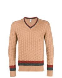 Eleventy V Neck Cashmere Sweater