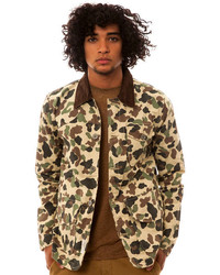 Camo Bellfield The Somoa Jacket In Duck