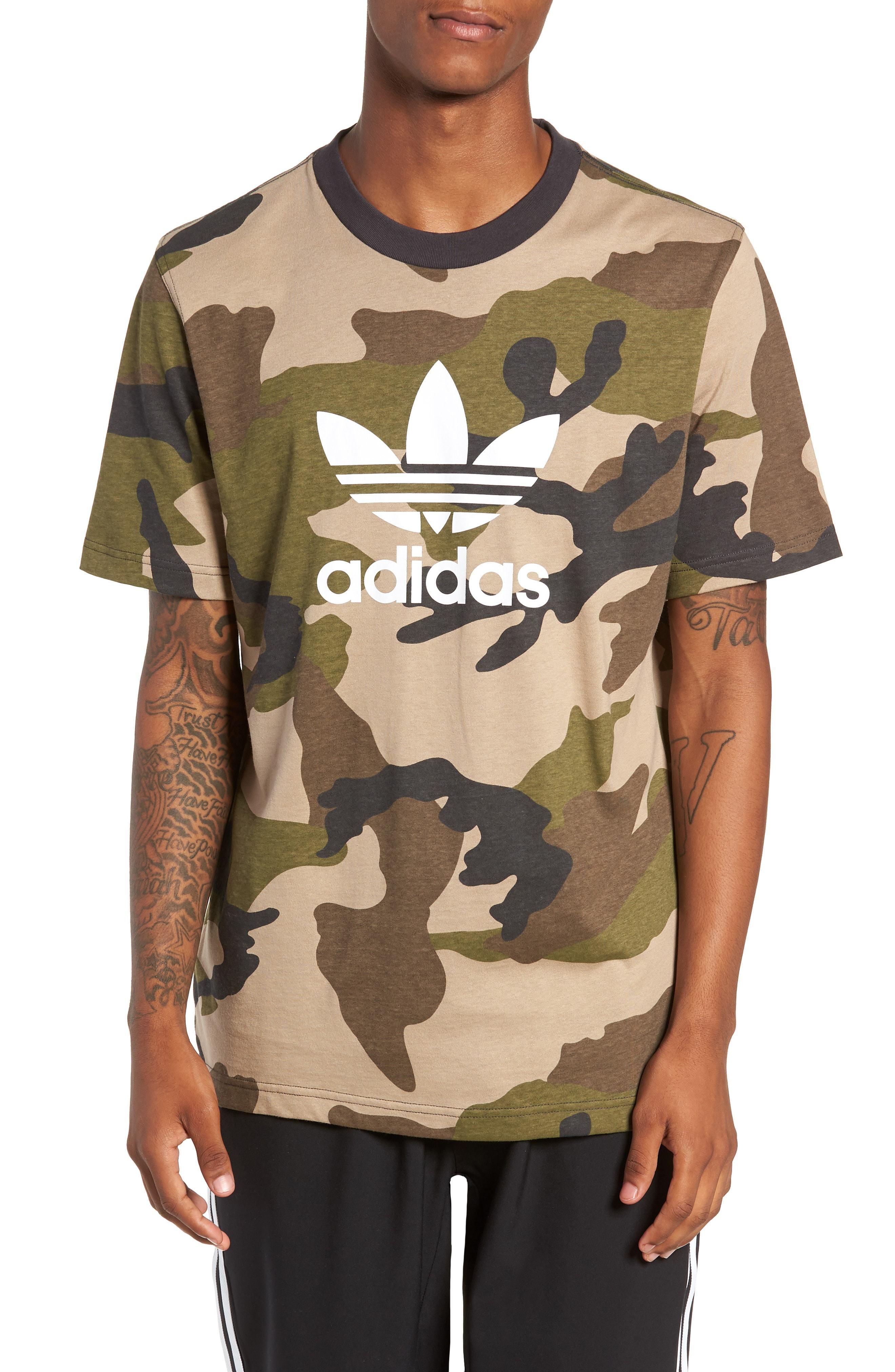 adidas shirt camouflage
