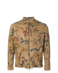 Sylvie Schimmel Camouflage Zipped Jacket
