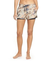 Koral Sand Layered Shorts