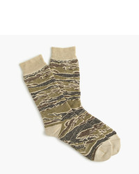 J.Crew Anonymous Ismtm Camo Crew Socks