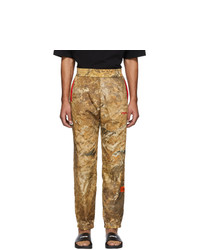 Tan Camouflage Sweatpants