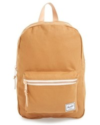 Tan Canvas Backpack