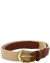 Tan Canvas Belt