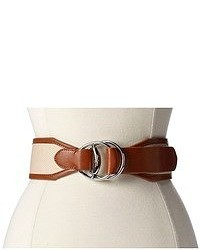 Lauren by ralph lauren 2 14 canvas belt with equestrian d rings medium 51855