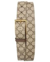 Gucci Supreme Canvas Belt