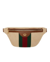 Gucci Beige Gg Vintage Belt Bag