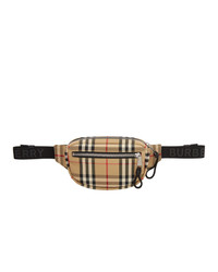 Burberry Beige Small Cannon Bum Bag