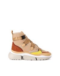 Chloé Sonnie Hi Top Sneakers