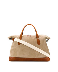 Tan Canvas Holdall