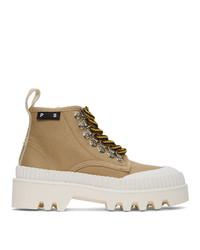 Proenza Schouler Beige Hiking Boots