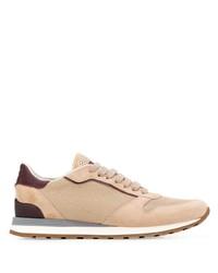 Brunello Cucinelli Contrast Low Top Sneakers