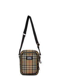 Burberry Beige Freddie Messenger Bag