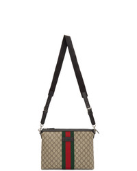 Gucci Beige Medium Gg Supreme Messenger Bag