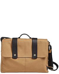 Skagen Tranum Canvas Laptop Messenger Bag