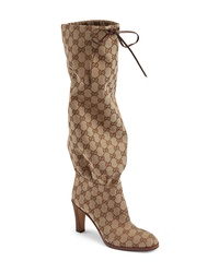 Gucci Lisa Monogram Cinch Boot